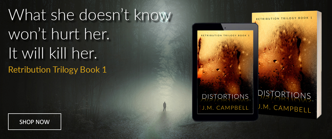 Distortions: A Quinn Masterson Mystery by James M. Campbell