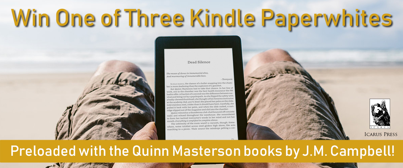 Preloaded with all three Quinn Masterson books, including the first two books of the Retribution Trilogy!